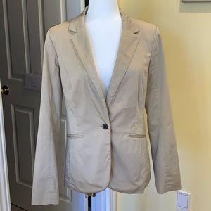 Women's Mossimo Tan Khaki Blazer Jacket Size S